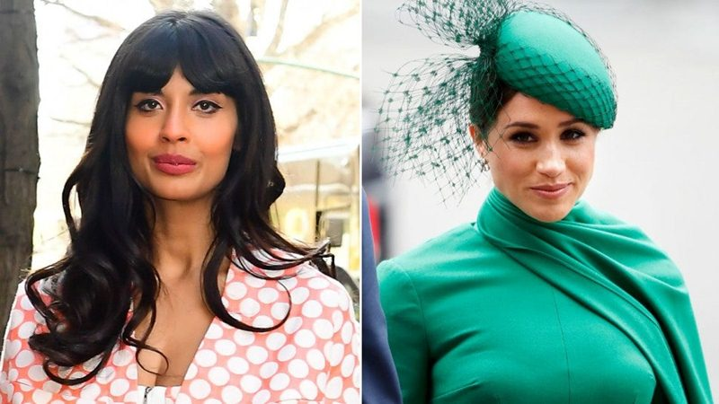 Jameela Jamil Clarifies Being 'Best Friends' With Meghan Markle