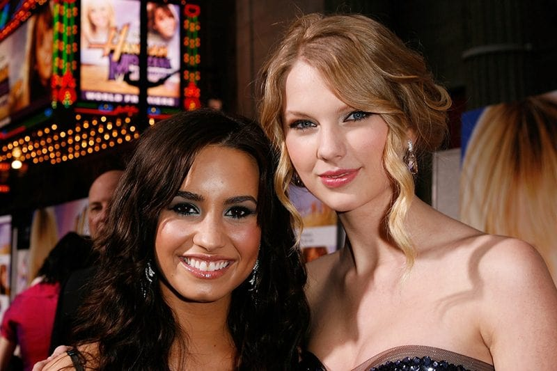 Demi Lovato Supports Taylor Swift For Her Political Activism