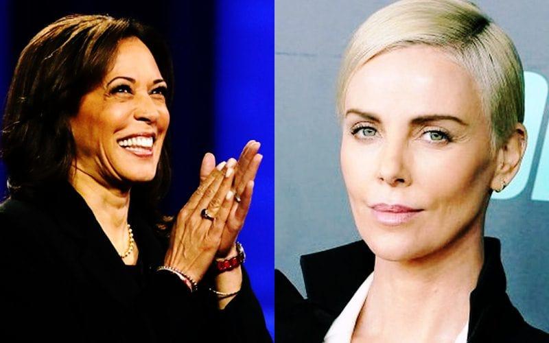 Charlize Theron Proud Of Joe Biden & Kamala Harris Win