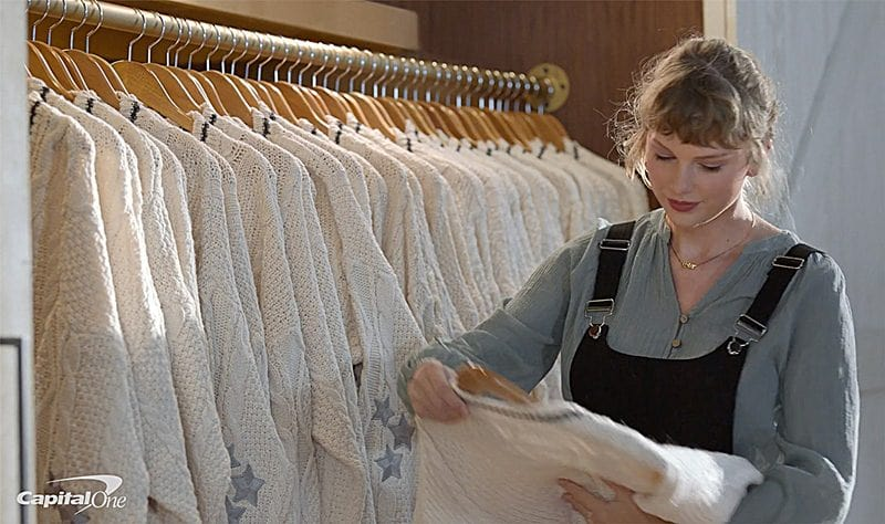 Taylor Swift Opens Up Her Closet In New Capital One Ad [Video]