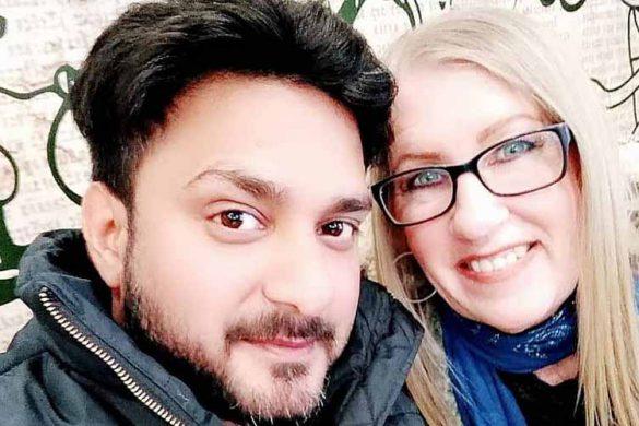 Jenny Slatten and Sumit Singh