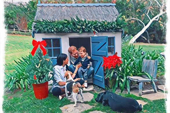 Meghan Markle, Prince Harry Shares First Holiday Card Amid Christmas Celebration