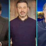 Jimmy Fallon, James Corden, Jimmy Kimmel, Stephen Colbert, Seth Meyers