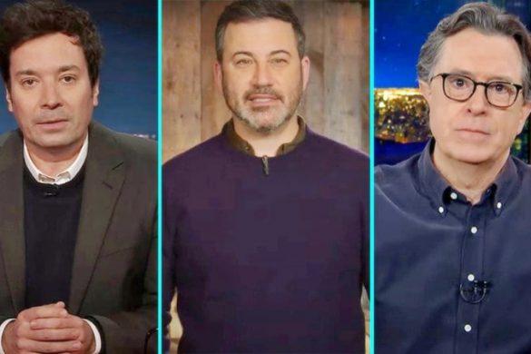 Jimmy Fallon, James Corden, Jimmy Kimmel, Stephen Colbert, Seth Meyers