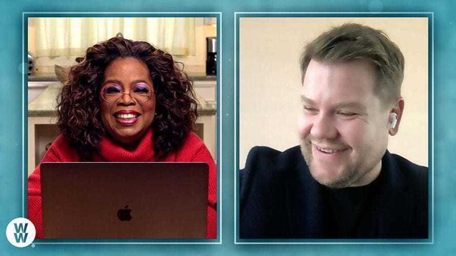 James Corden Explains His Weight Loss Journey With Oprah Winfrey