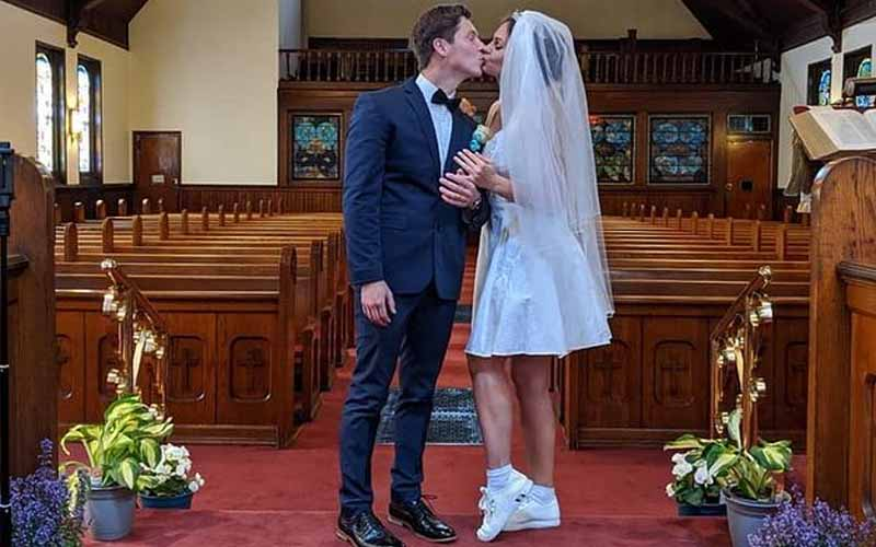 90 Day Fiance Brandon Julia Wedding Pic