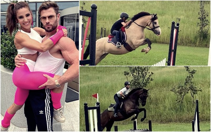 Chris Hemsworth Shares Horse Riding Pictures To Celebrate Women's Day; Preparing For Hulk Hogan Biopic