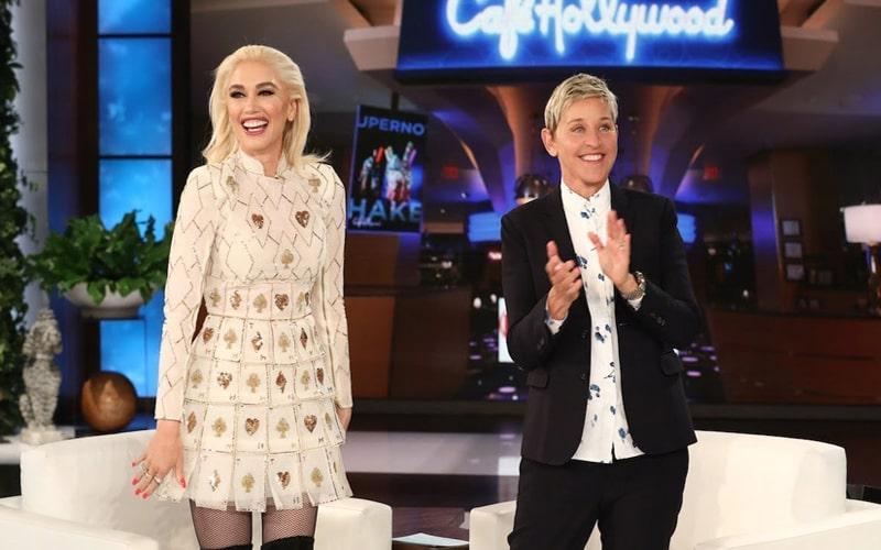 Gwen On Ellen show