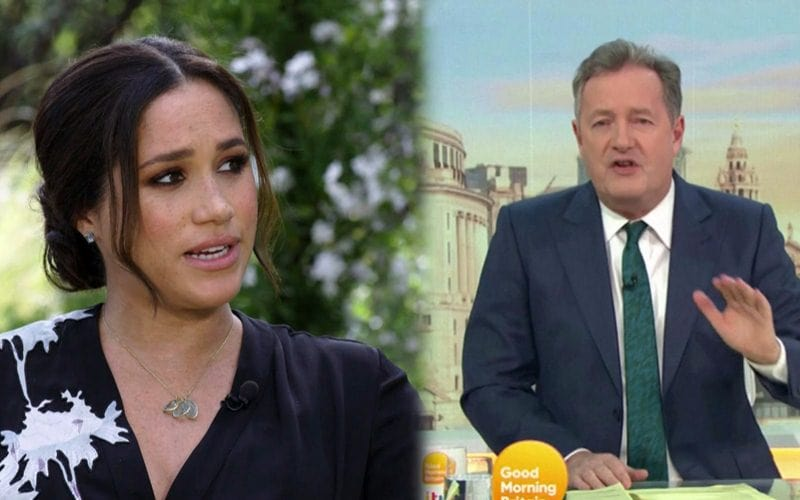 Piers Morgan Walks Away After Colleague Calls Out His Comments On Meghan Markle