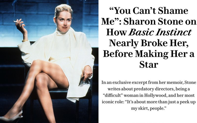 Sharon Stone Reveals How She Was Forced To Do Intimate With Co-Stars