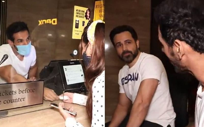 'Mumbai Saga': John Abraham, Emraan Hashmi Sells Movie Tickets At Theaters