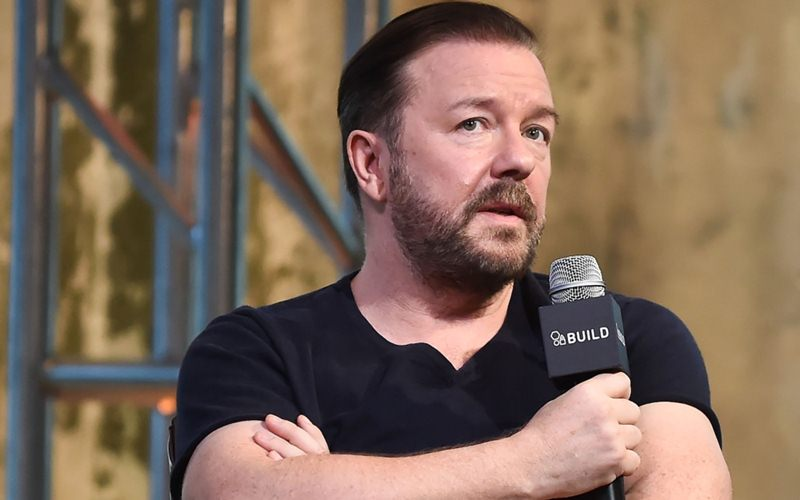Ricky Gervais Responds To Charlie Hanson's Misconduct Claims