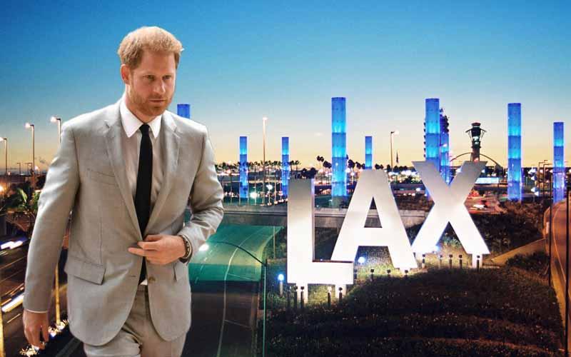 Prince Harry LAX