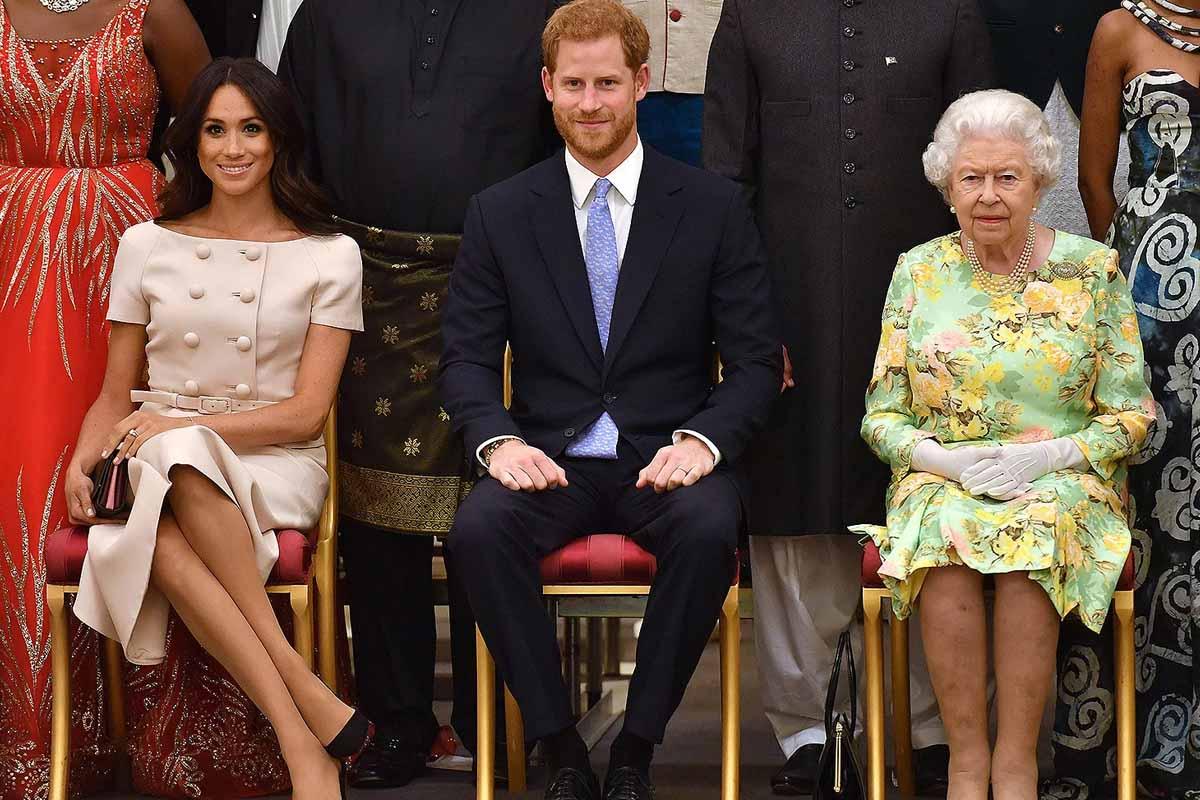 Queen Prince Harry Meghan Markle