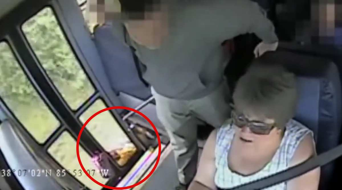 6-Year-Old Girl Gets Dragged In Scary Video For 1,000 feet By School Bus [VIDEO]