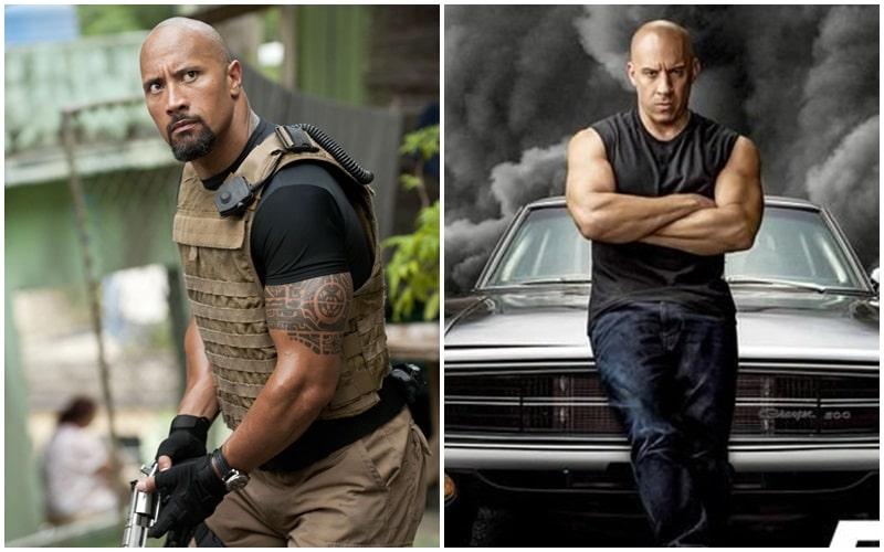 Dwyane Johnson Vin Diesel Fast & Furious