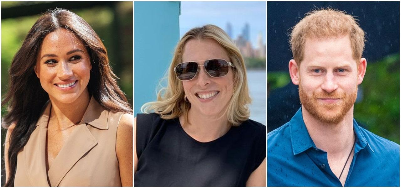 Meghan Markle, Prince Harry, Catherine St-Laurent