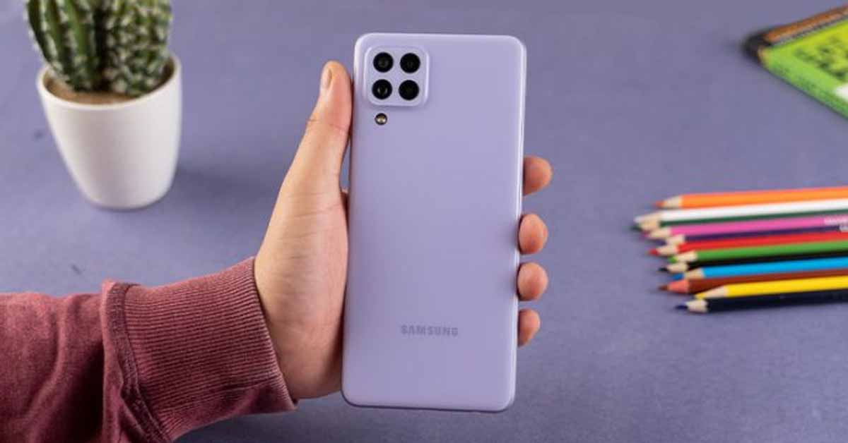 Samsung Galaxy A22 4G India Launch