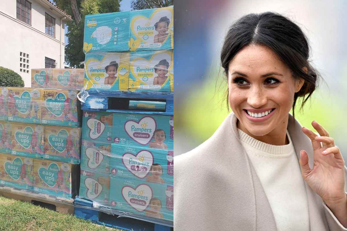 Meghan Markle, Prince Harry Donates Diapers to Mothers in Need