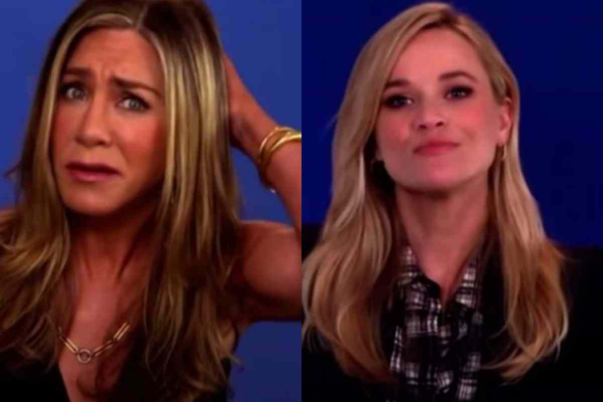 Jennifer Aniston, Reese Witherspoon Awkward Interview [Watch]